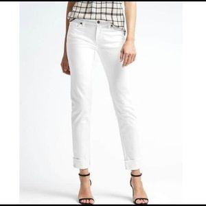 Banana Republic White Jeans, size 4